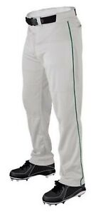 Wilson Men's Relaxed Fit Warp Pant Baseball P200 Adult w/ Piping Color WTA4332