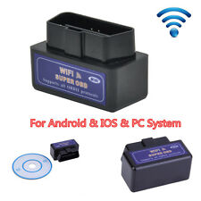 Mini ELM327 WIFI OBD2 Auto Diagnostic Interface Scanner For Android & IOS &PC