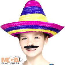 Sombrero chapeau enfants déguisement mexicain western garçons filles enfant accessoires costume