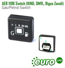 AEB 119B GAS LPG AUTOGAS PETROL Switch KING, OMVL, Bigas, Zavoli
