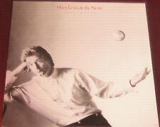 "Huey Lewis & The News Lp "" SMALLWORLD "" Chrysalis 1988"