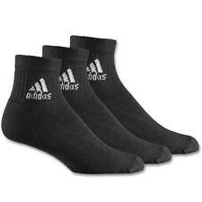 Calze e calzini da uomo adidas nero in cotone