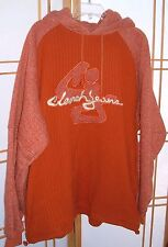 Mens Clench Jeans Essential Element Heavy XL Orange Sweater Pullover Hoodie