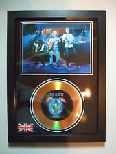 deep purple   SIGNED  GOLD  DISC  Y8