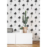 California Love removable wallpaper Tropical Pattern Palm Wallpaper Exotic