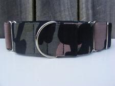Camo Green - Martingale Dog Collar - Greyhound, Sighthound