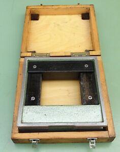Rahmenwasserwaage 150x150 mm 0,1 Maschinenwasserwaage Kontroll Richtwaage Waage
