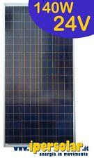 Pannello solare fotovoltaico 140 Watt/24V