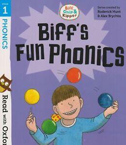 Biff, Chip and Kipper: Stage 1 Read with Oxford Phonics - BIFF'S FUN PHONICS New