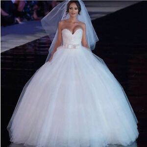 Best Selling Sparkly Sequinned Fairytale bridal gown, custom made, size 4-28