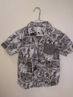 Gym Friends Marvel Comics Spider-Man Dress Shirt Med (7-8)