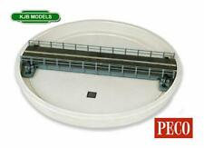 More details for bnib oo gauge peco lk-55 turntable kit, well type - hand operated