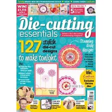 DIE CUTTING ESSENTIALS MAGAZINE ISSUE 21 + FREE DARLING DOILIES DIE AND STAMPS