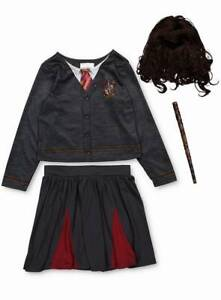 BRAND NEW AND UNWORN (Harry Potter Young  Hermione Granger & Wig   )  COSTUME