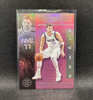 Luka Doncic Pink Dallas Mavericks SSP 2019-20 Panini Illusions #134 NBA Rare