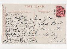 Miss Golding English Road Freemantle Shirley Southampton 1908 787a