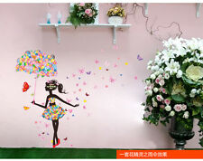 Removable Butterfly Girls Wall Art Sticker Vinyl Decal Room Home Mural Decor