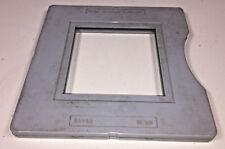 LEITZ Wetzlar Leica/Film/PIASTRA SUPPORTO PER 8.5x8.5cm media, parte 34 400, Grigio