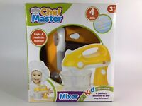 New Be A Kid Chef Master- Battery operated Mixer Light & Realistic Motion 3+