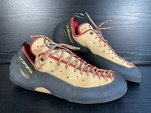 LA Sportiva Climbing/Bouldering Shoes with Vibram Rubber Soles - Size 11.5 UK