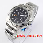 43mm Top Men Mechanical watch green dial Sapphire glass GMT Automatic Wristwatch