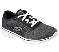 NEU SKECHERS Damen Fitness Sneaker Trainer Walking GO WALK 4 EXCEED Schwarz/Grau