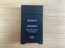 Sony Qda-Sb1 Xqd Usb Adapter for G Series - Excellent Condition