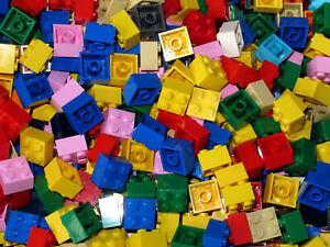 LEGO Bricks  2x2 x 100 pcs - Part. no. 3003   Mixed Colours - New
