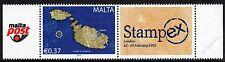 Malta 2012 Se-Tenant Stampex Unmounted Mint