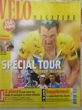 VELO MAGAZINE N°420: JUIN 2005: SPECIAL TOUR DE FRANCE + LA CARTE + GUIDE ETAPES
