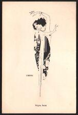 E. Nerman. Régina Badet. Danse. Bordeaux. Paul Hecksher. vers 1910