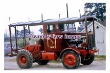 gw0646 - Scamell Fun Fair Lorry at Caernby in 1973 - photograph
