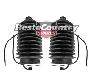Holden Torana POWER Steering Rack End Boot PAIR x2 LH LX UC Left + Right