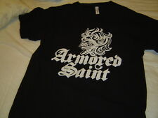 ARMORED SAINT T-Shirt - Size MED - Logo front - pre-owned