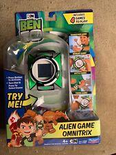 CN Ben 10 Alien Game Omnitrix Cartoon Network 4 Game Watch New