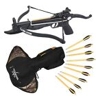 SAS Prophecy 80 Pound Self-cocking Pistol Crossbow + Carrying Bag and 13 Arrows