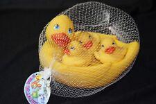 Bathtub Pals Yellow Rubber Duck Bath Tub Toy Item #1117