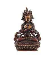 Estatua Buda Vajradharma De Resina Diosa Budista Del Nepal 14 CM 1548