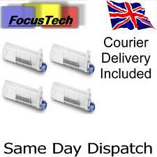 Set of 4 OKI C710/C711 NEW Compatible toner cartridges. Inc Courier Delivery