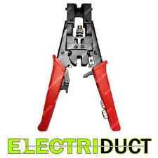 BNC / RCA / F-type Coax Adjustable Compression Tool - Crimper - Electriduct
