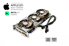  Gigabyte HD 7970 OC 3GB GPU For Apple Mac Pro w/EFI, Boot screen, METAL and 4K
