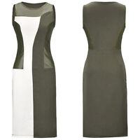 New Women Ladies Peplum Sheath Bodycon Dress Party Cocktail Midi Dress Plus Size