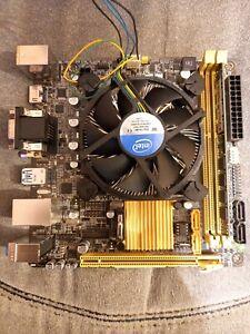 ASUS H81I-PLUS + Intel Core i3 4130T + 4GB RAM Mini ITX Bundle + Blende