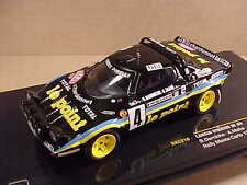Ixo 1/43 Diecast Lancia Stratos HF, 1981 Monte Carlo Rally, le point, #4 #RAC210