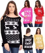 Animal Print Winter Medium Knit Women's Jumpers & Cardigans