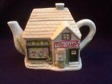Novelty Ornamental Collectors Teapot Toy Shop House Cottage