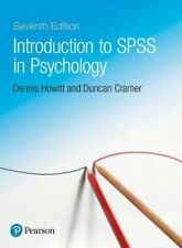 Introduction to SPSS in Psychology by Dennis Howitt 9781292186665 | Brand New