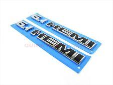 Dodge Chrysler Jeep 6.1 HEMI Emblem Badge Nameplate Set Of 2 OEM NEW MOPAR