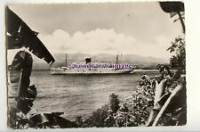 LN1810 - French CGT Liner - Colombie - Company issued postcard