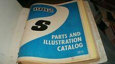 1982 CHEVROLET S10 S-10 FACTORY MASTER PARTS CATALOG LIST MANUAL BOOK ORIGINAL